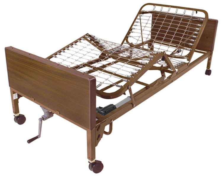 drive medical 15004 semi electric bed with single crank d43