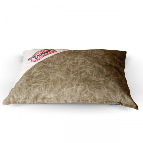 Vintage Single-Seam Pet Bed Premium Logo