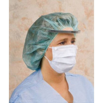Critical Cover Combo Mask with Face Shield, Ear Loop Fastener