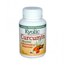 Kyolic Aged Garlic Extract Curcumin Healthy Inflammation Response Herbal Supplement