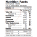 RenaMent Protein Supplement Nutrition Data