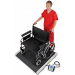 Bariatric Heavy Duty Portable Wheelchair Scale BRW1000