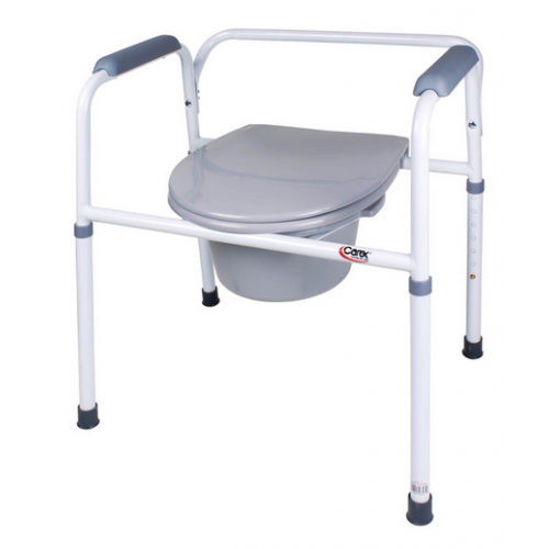 Commode Toilet Buy Steel Commode Carex Commode 3 In One
