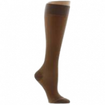 LEGLINE Sheer Compression Stockings Knee High CLOSED TOE 15-20 mmHg