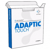 Adaptic Touch 8 x 12 Inch Silicone Dressing, Non-Adhering - 500504