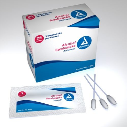 Isopropyl Alcohol Swabsticks, Antiseptic/Germicide