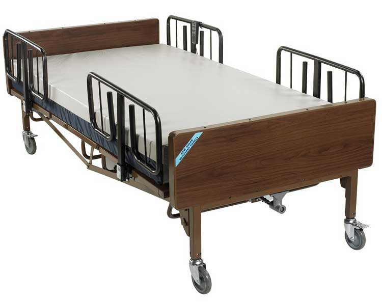 drive medical full electric super heavy duty bariatric hospital bed 15303 912