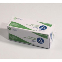 Dynarex 3262 Advantage 2 x 2 Inch Surgical Gauze Sponges 8 Ply