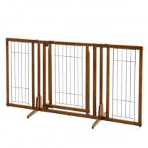 Richell Premium Freestanding Pet Gate with Door