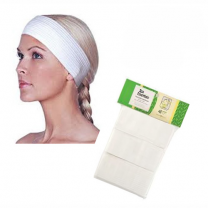 Graham Medical Spa Essentials White Headbands