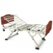 Invacare Carroll CS3 LTC Hospital Bed with Biltmore Cherry Bed Ends