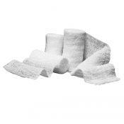 Caring PRM25855 Gauze Bandage Rolls 4.5in x 4.1yds 6 Ply