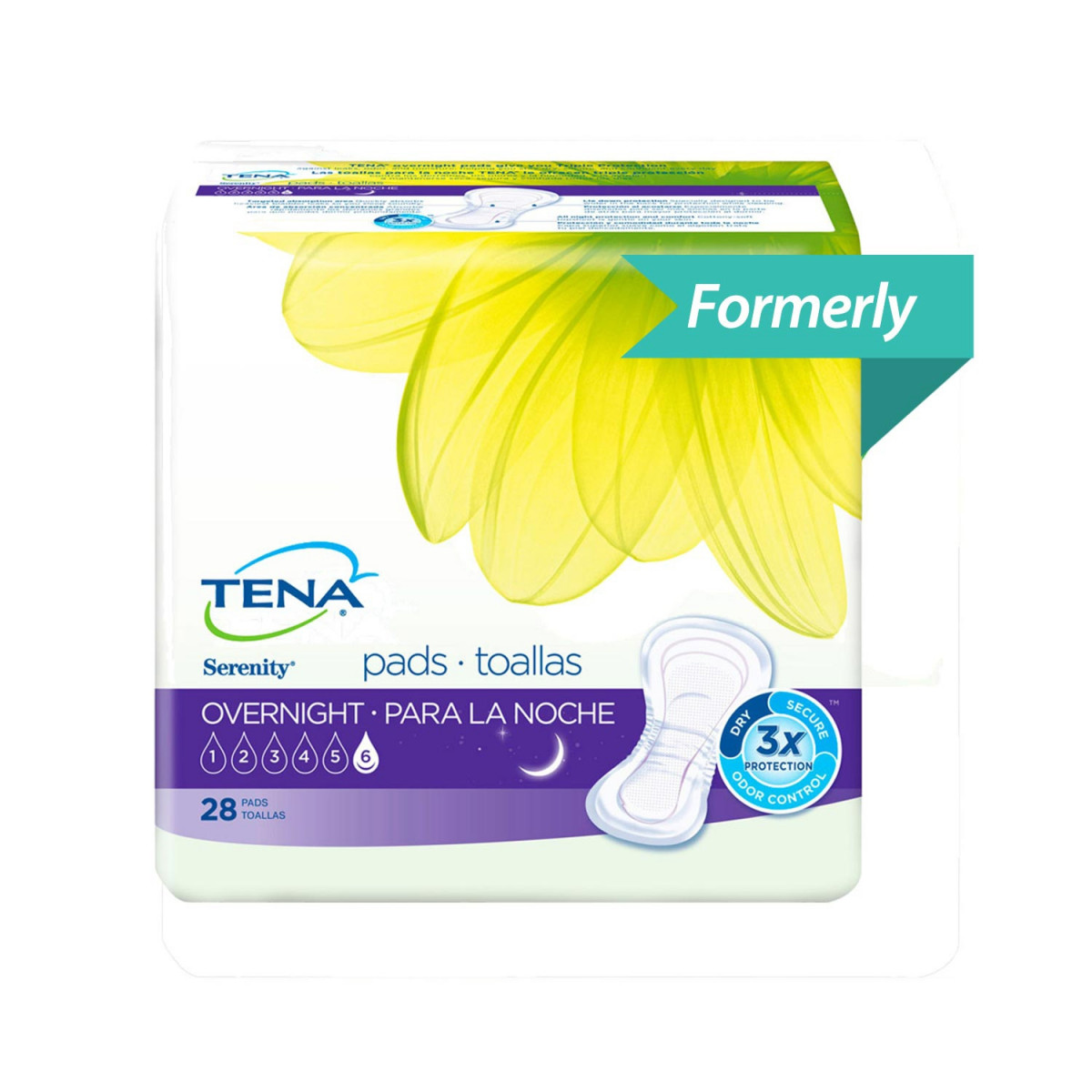 tena intimates overnight pads with proskin technology 9b4