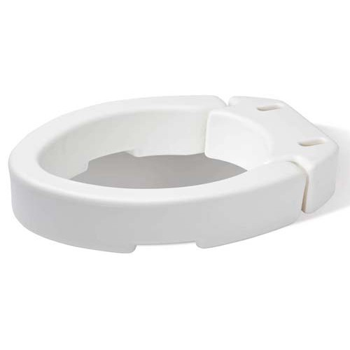 Hinged Toilet Seat Riser Elevated Toilet Seat Raised