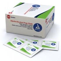 Dynarex Alcohol Prep Pads (70-isopropyl) - Sterile