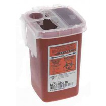 1 Quart Phlebotomy Biohazard Sharps Containers