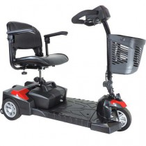 Spitfire Scout Deluxe 3-Wheel Compact Travel Scooter