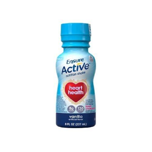 Ensure Active Heart Health Nutrition Shakes Vanilla - 8 oz