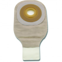 Hollister Premier One Piece Drainable Ostomy Pouch with Convex Flextend Barrier and Clamp Closure