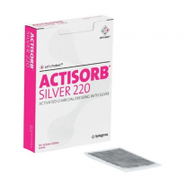 Box of 10 Actisorb Silver 220