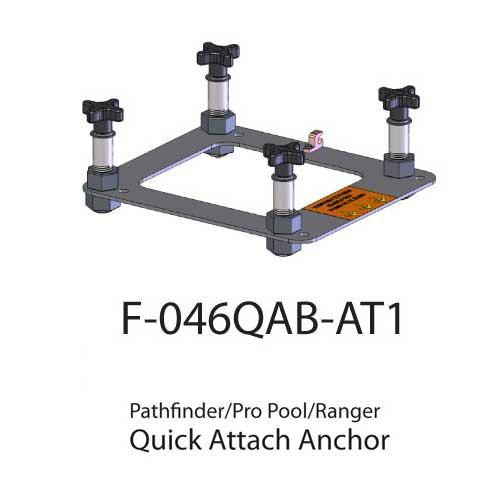 pool lift anchors and spa lift anchors for aqua creek products 09f