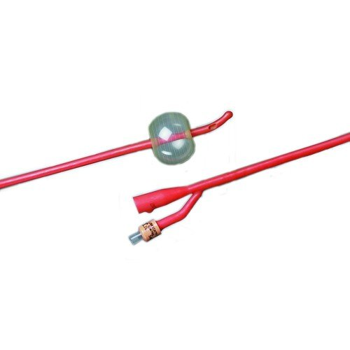 Tiemann Latex Foley Catheter