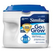 Similac Go and Grow Infant Formula Milk-Based