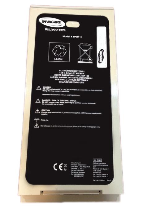 invacare solo2 portable oxygen concentrator manual