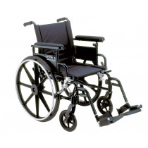 Viper Plus GT Wheelchair with Flip Back Adjustable Height Arms with Various Foot Rigging