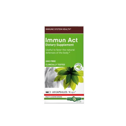 Erba Vita Immune Act Dietary Supplement