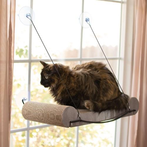 EZ Mount Cat Scratcher Kitty Sill