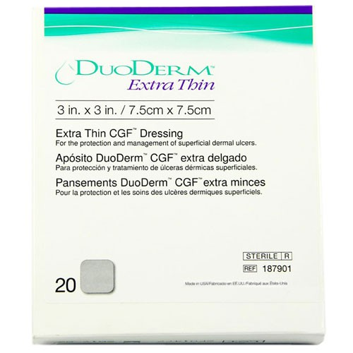 ConvaTec DuoDERM 187901 Extra Thin Square