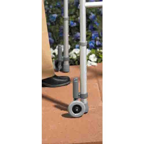 Walker Brake Wheel Footpiece Set