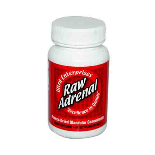 Raw Adrenal Glandulars