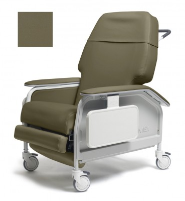 lumex extra wide clinical care geri chair recliner 7aa