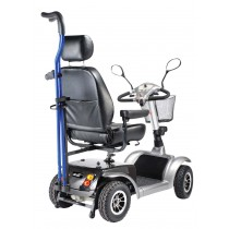Power Chair Crutch or Cane Holder