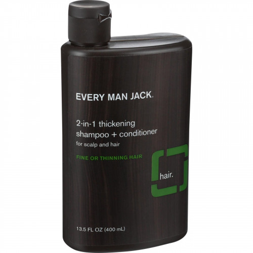Every Man Jack 2 in 1  Thickening Shampoo plus Conditioner