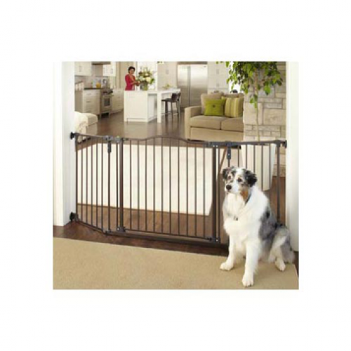 North States Deluxe Decor Wall Mount Gate