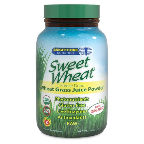 Sweet Wheat Freeze Dried Wheat Grass Juice Powder