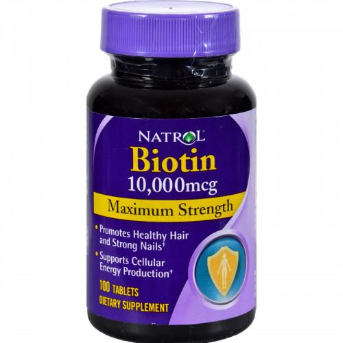 Natrol Biotin - 10000 mcg