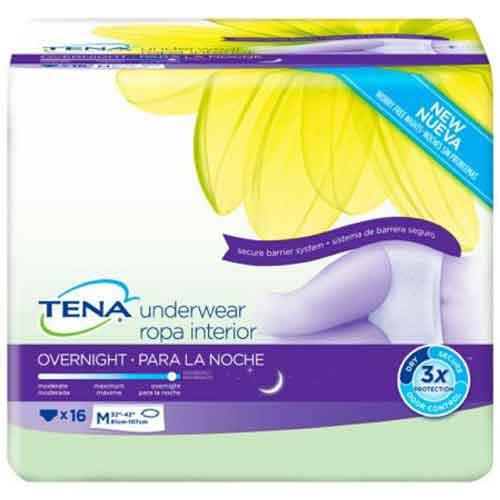 TENA Protective Underwear Overnight Super Absorbency