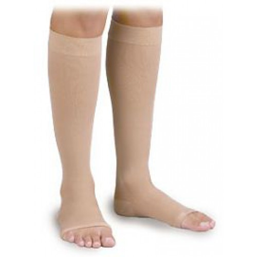 Activa Surgical Weight Knee High Unisex Compression Socks OPEN TOE 30-40 mmHg