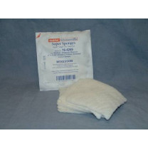 Medi-Pak 6 x 6.75 Super Sponges, Rectangle, Sterile - 16-4265
