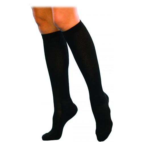 Sigvaris 146C Casual Cotton Knee High Compression Socks CLOSED TOE 15-20mmHg