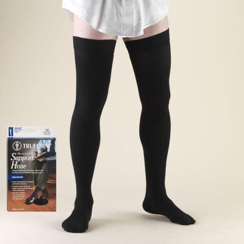 Men's Dress-Style Thigh High Length Sock 20-30 mmHg