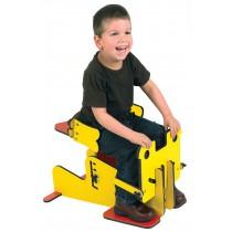 Straddler Bolster Chair