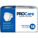 ProCare Adult Briefs Large