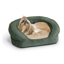 K&H Pet Products Deluxe Ortho Bolster Sleeper