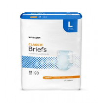 McKesson Classic Briefs - Light Absorbency
