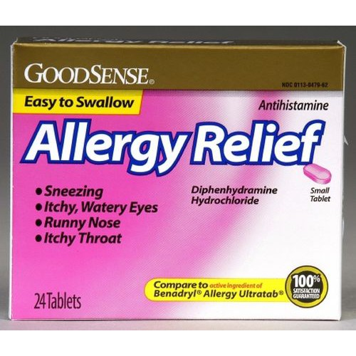 GoodSense Allergy Relief Tablets
